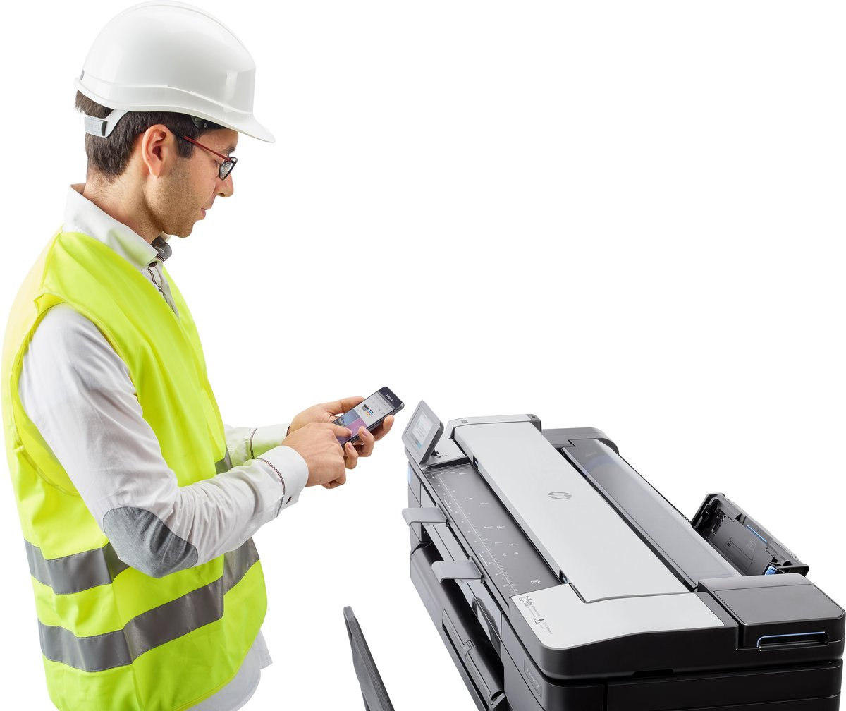 HP DesignJet T830 24-in MFP Printer