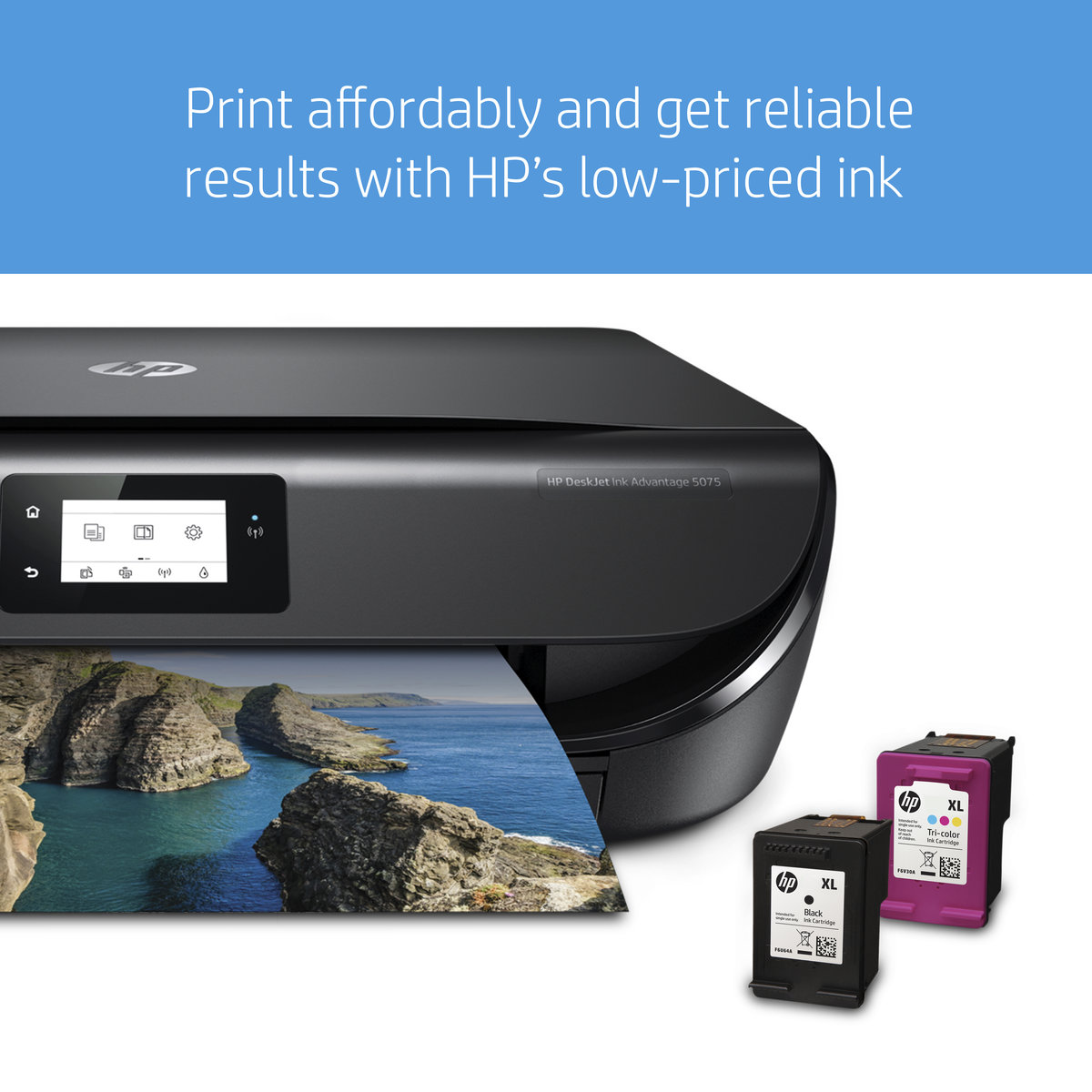 HP Deskjet Ink Advantage 5075 AiO