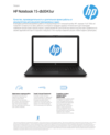HP Notebook - 15-db0043ur