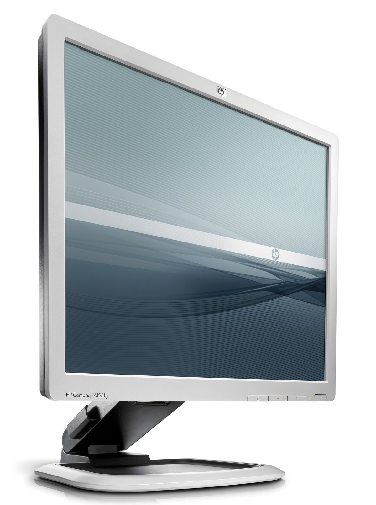 "HP TFT LA1951g 19"" Flat Panel Monitor (250 cd/m2,1000:1,5 ms,160°/160°,VGA,DVI-D,USB hub,1280 x 1024,portrait orientation,TCO,EPEAT Gold)(repl KR145AA"