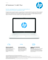 HP Notebook - 15-db0176ur
