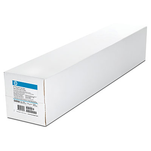 HP White Satin Poster Paper 136 gsm-1067 mm x 61 m