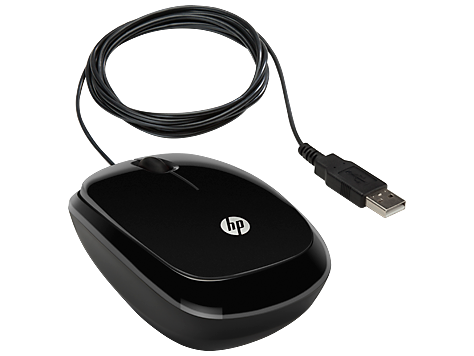 Mouse HP X1200 (Sparkling Black) cons