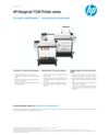 HP DesignJet T500 Printer series (English)