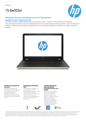 HP Notebook - 15-bw503ur