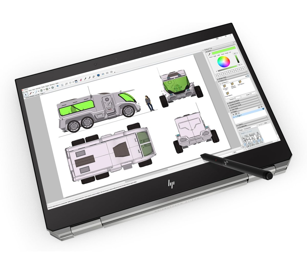 HP ZBook Studio x360 G5