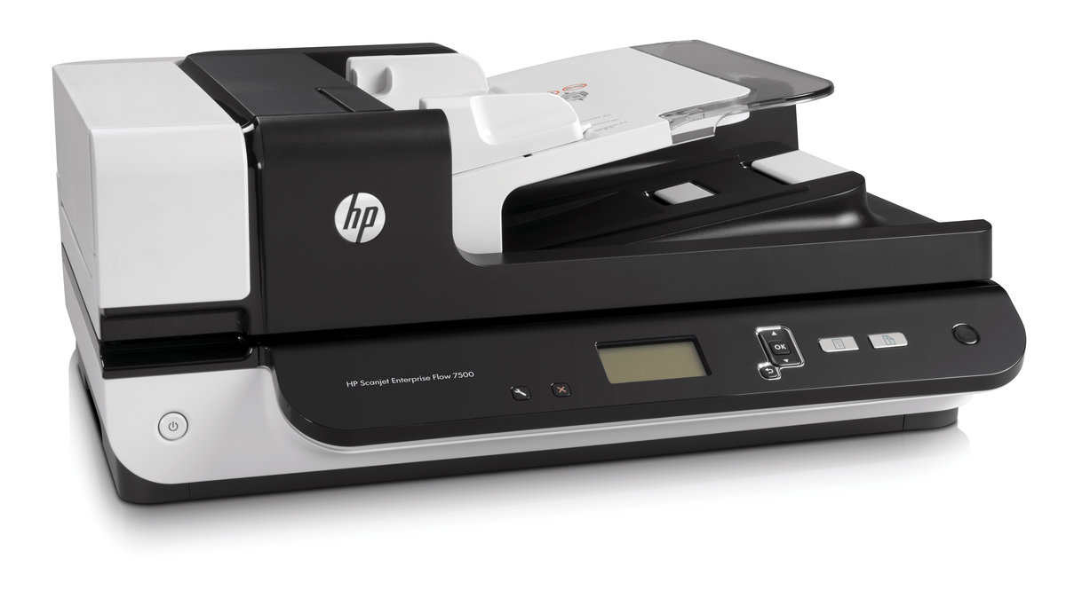HP Scanjet Enterprise Flow 7500 Flatbed Scanner