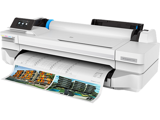 HP DesignJet T125 24-in
