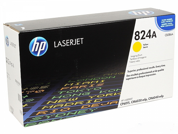 HP 824A  yellow (CB386A)