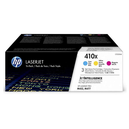 HP 410X 3-pack color (CF252XM)