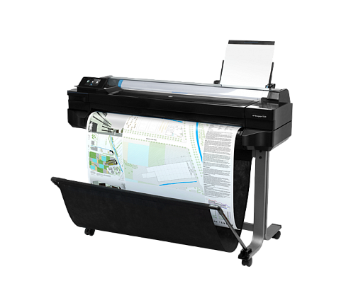 "HP Care Pack - HP DesignJet T520 24"" Next Day Onsite Response на 60 месяцев"