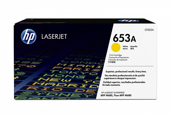 HP 653A yellow (CF322A)