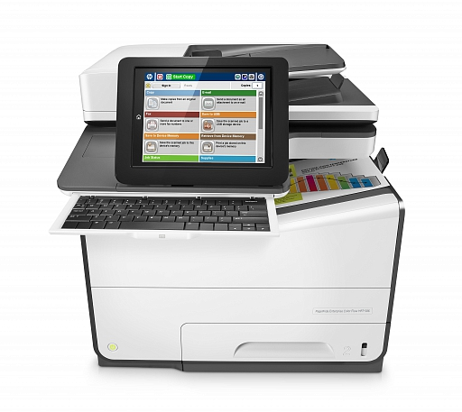 HP PageWide Enterprise 586z