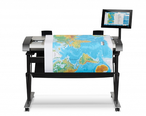 HP Production Designjet HD pro Scanner
