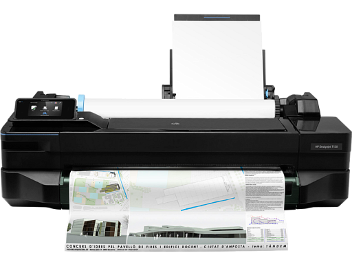 HP Care Pack - DesignJet T120-24 Next Day Onsite Response на 48 месяцев